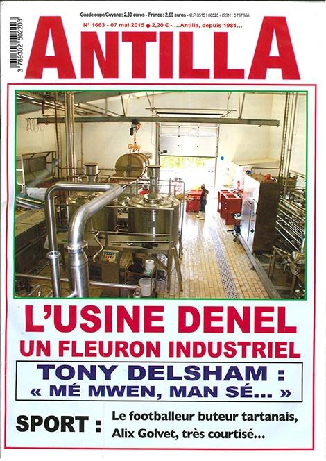 L'usine Denel : un fleuron industriel