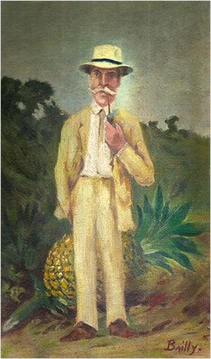 Illustration du Baron Pierre Daniel Jullien de Saumery