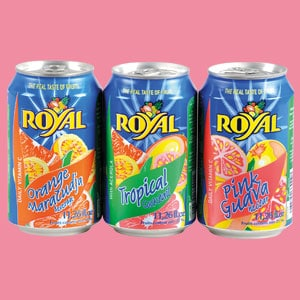 Les jus de fruits Royal 33CL