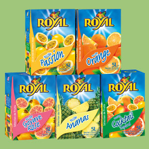 Les jus de fruits Royal 5L
