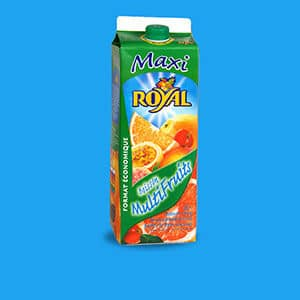 Les jus de fruits Royal